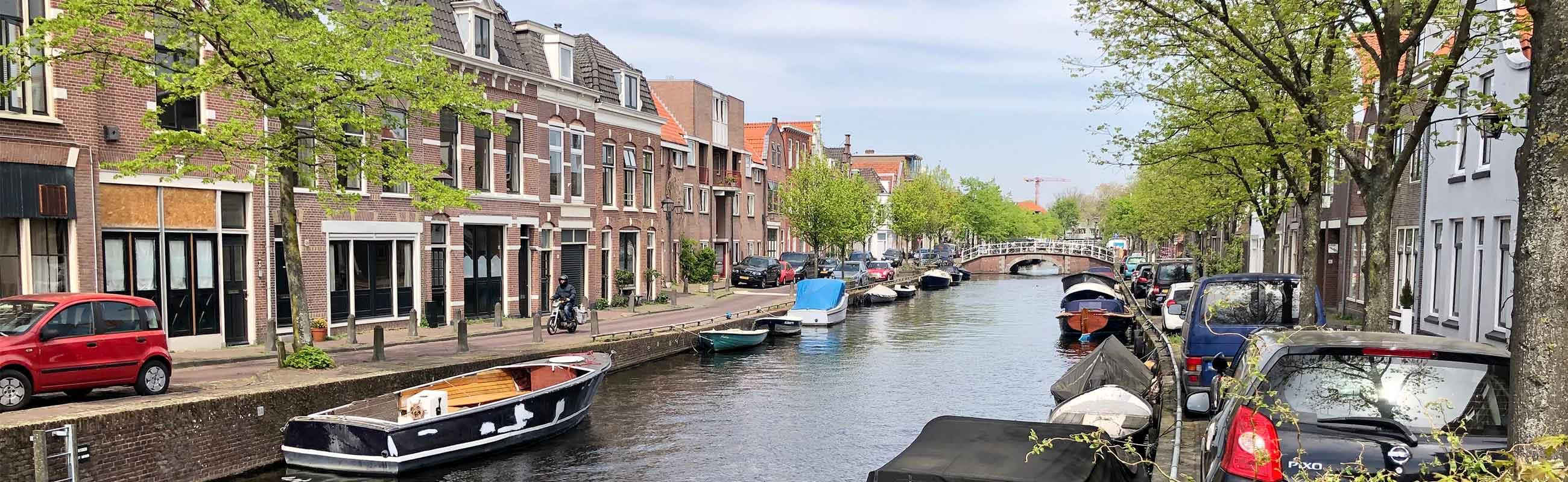 Koop- en huurwoningen in de Burgwalbuurt in Haarlem Centrum