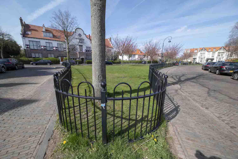 Bosch en Vaart buurt Haarlemmerhoutkwartier Haarlem Zuidwest Oranjeplein perkje