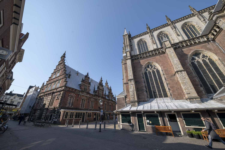 St Bavo kerk Haarlem Centrum Groenmarkt