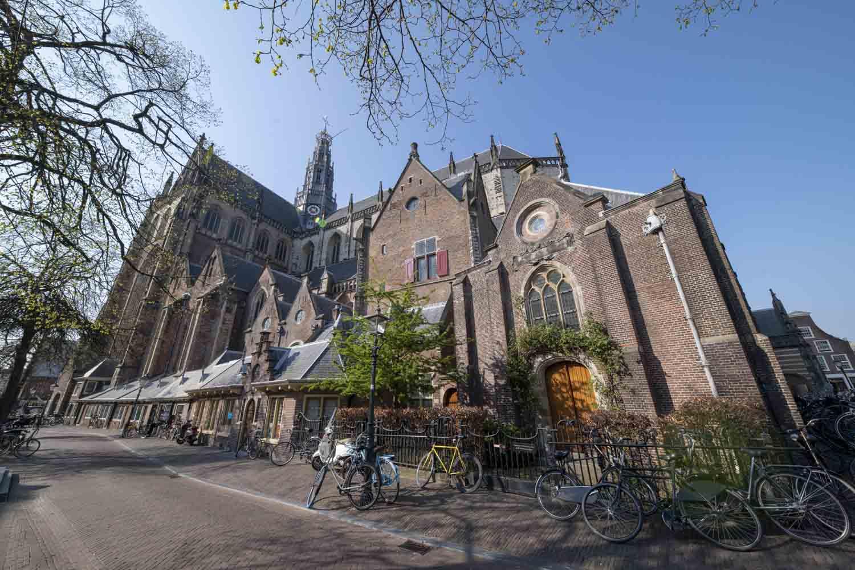 St Bavo Kerk Haarlem Centrum Oude Groenmarkt