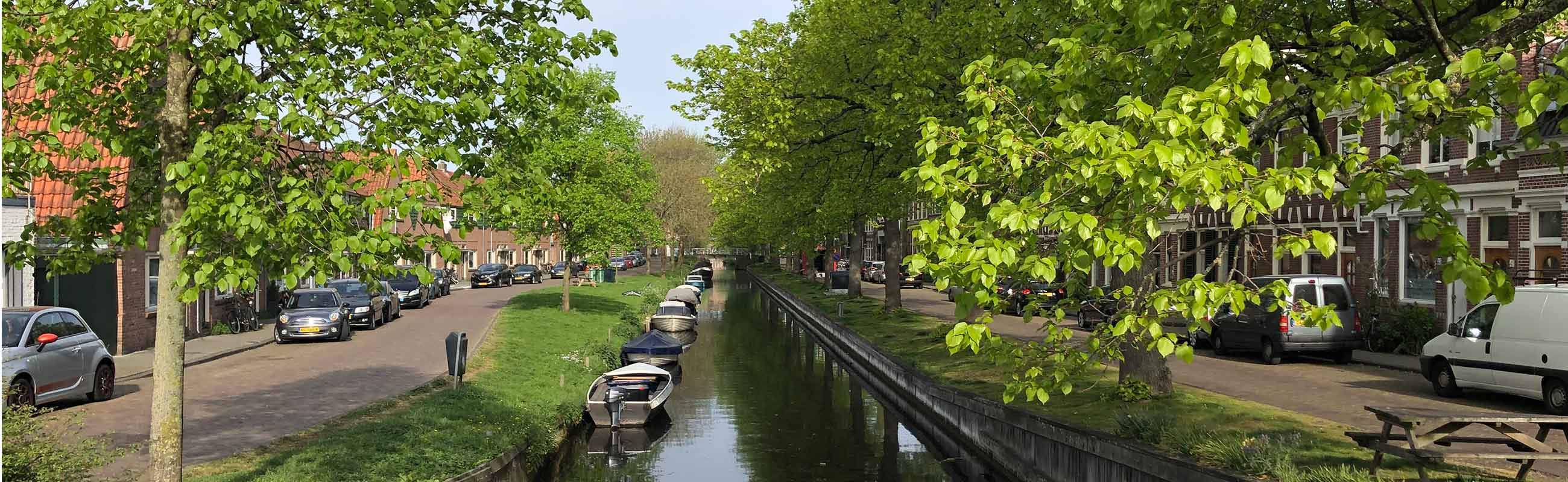 Wonen in het Garenkokerskwartier in het Zijlwegkwartier in Haarlem zuidwest