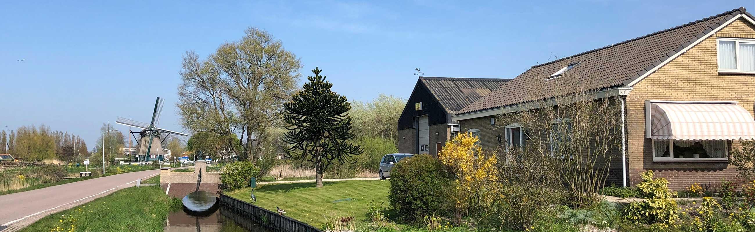 Wonen in Haarlem Oost is ook wonen aan de Veerpolder.