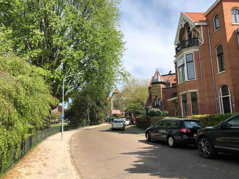 Koophuizen in de Koninginne buurt in Haarlem Zuidwest