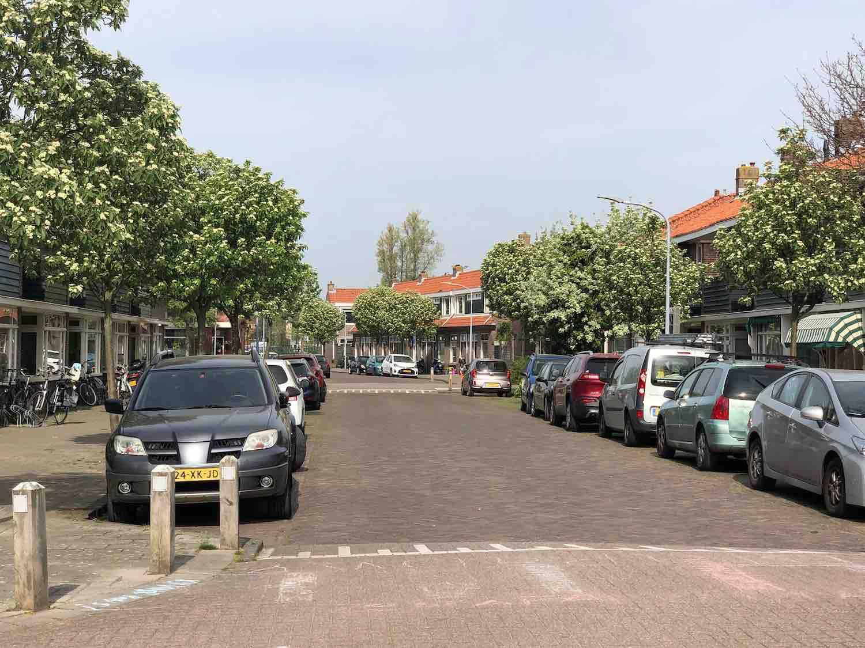 Huurwoningen in de Leidsebuurt in Haarlem Zuidwest