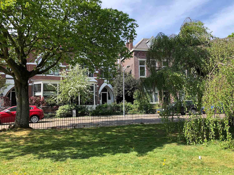 Wonen aan een mooie onderhouden perkje in het Haarlemmerhoutkwartier