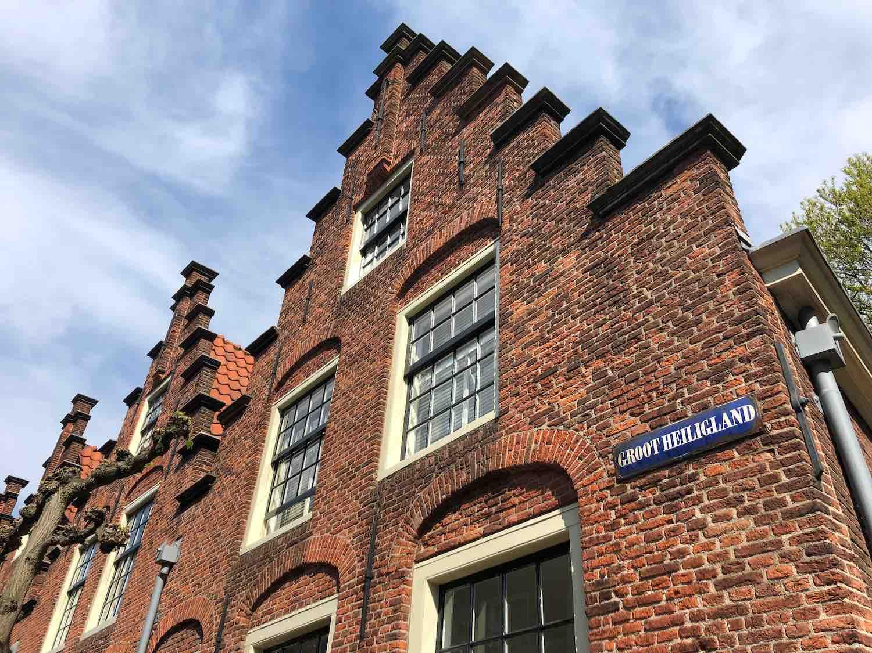 Klassieke en stijlvolle koopwoningen in de Heiliglandenbuurt in Haarlem Centrum