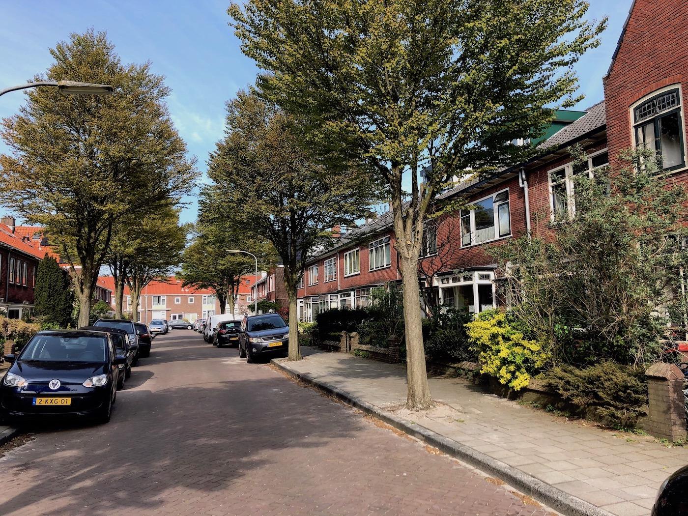 Vondelbuurt Haarlem Noord wonen in de Oudaenstraat