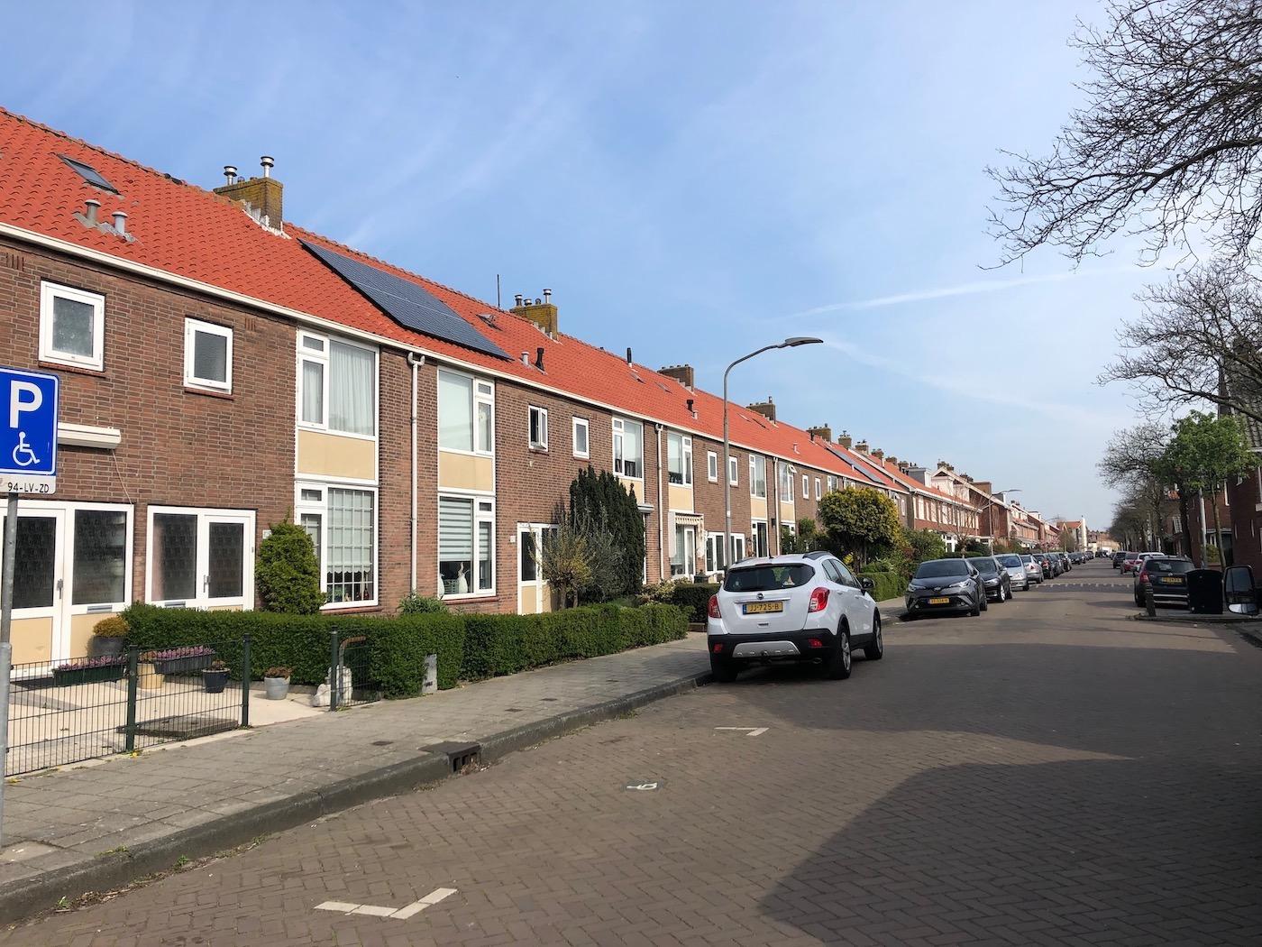 Vondelkwartier Haarlem noord wonen in de Leeuwendalersstraat