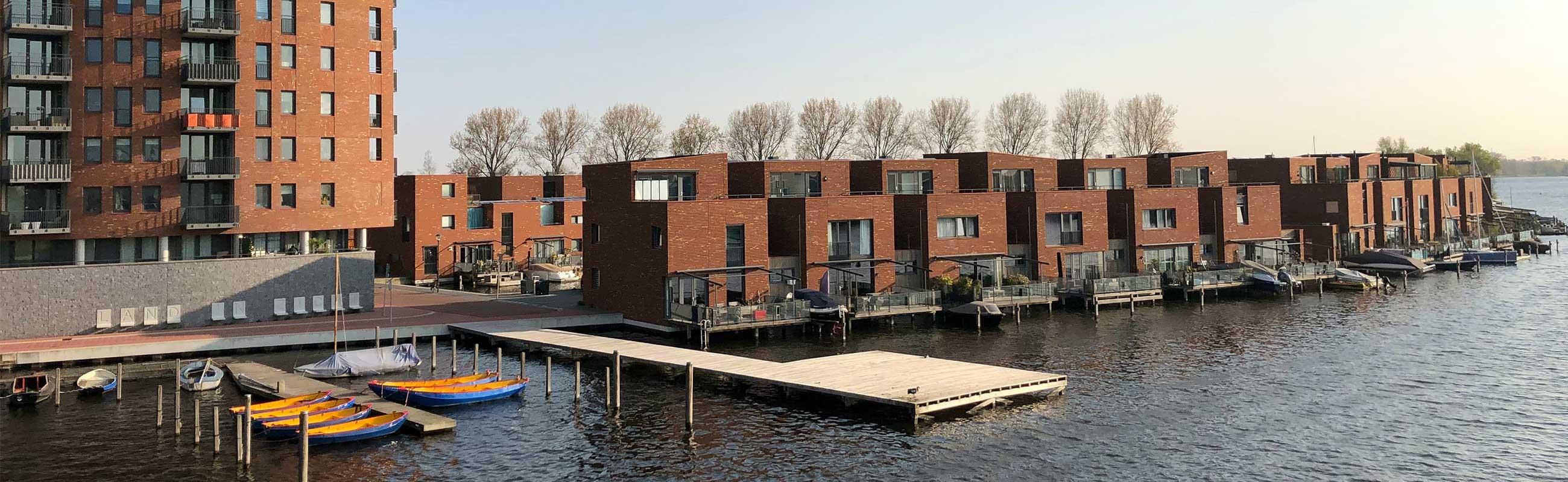 De Indische Buurt Noord in Haarlem Noord.