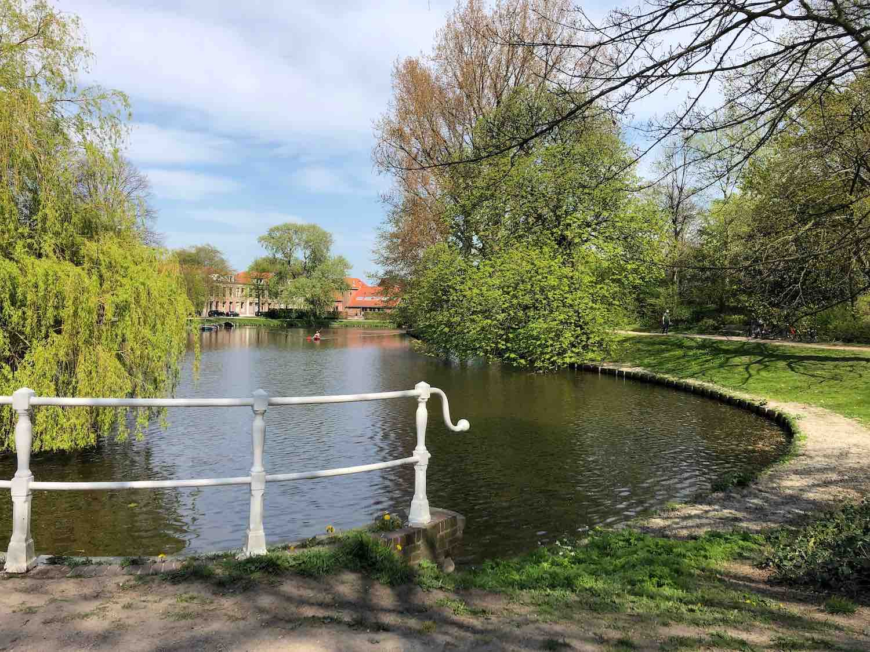 Wonen aan het Kenaupark in Haarlem in de Stationsbuurt.