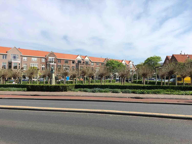 Huurwoningen in de Koninginnebuurt in de Haarlemmerhoutkwartier in Haarlem
