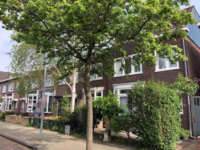 Mooie klassieke woningen uit de jaren dertig te koop in de populaire Leidsebuurt oost in het Zijlwegkwartier in Haarlem zuidwest