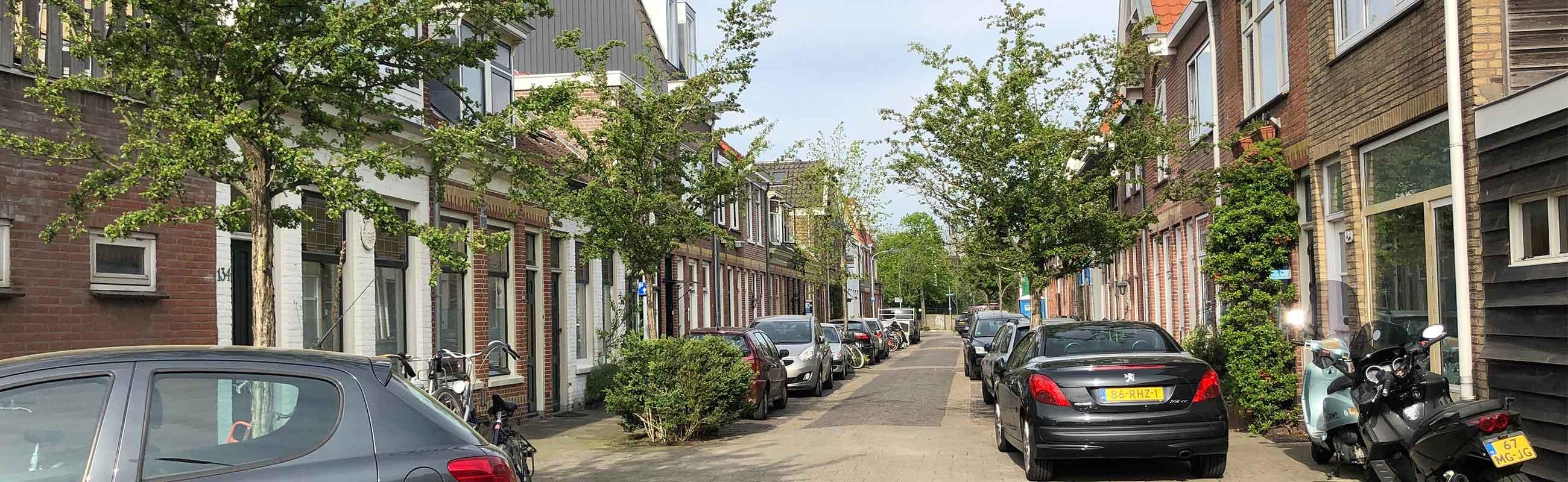 Koop en huurwoningen in de Leidsebuurt west in het Zijlwegkwartier in Haarlem zuidwest