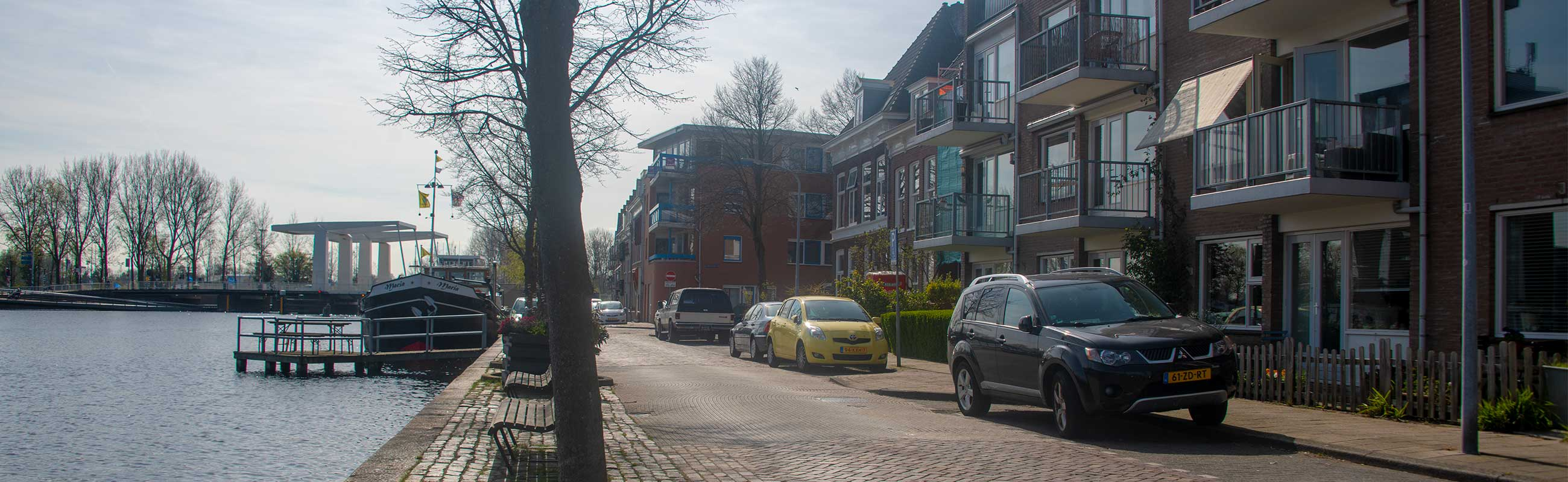 Het Rozenprieel in Haarlem Zuid in het Haarlemmerhoutkwartier