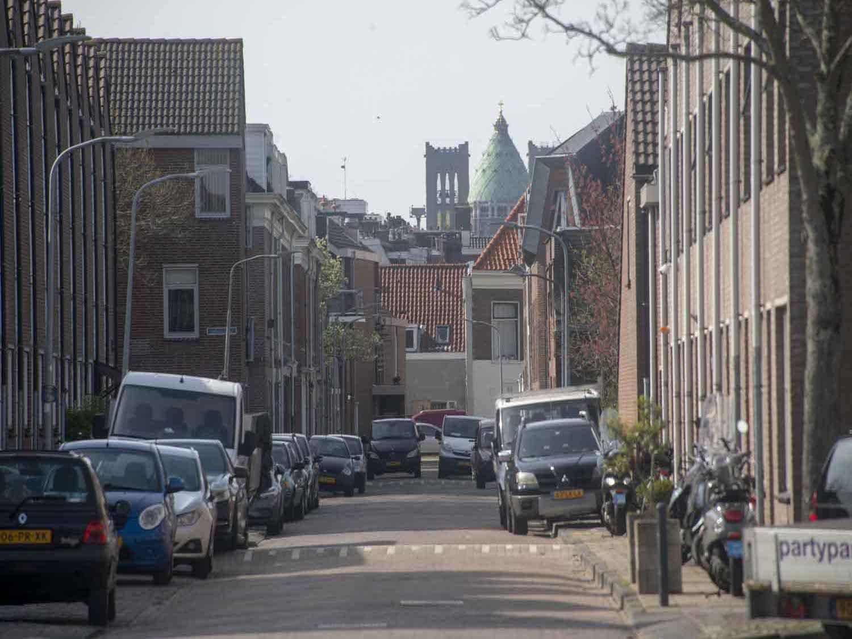 Linschotenstraat huur- en koopwoningen in het Rozenprieel in Haarlem Zuid in het Haarlemmerhoutkwartier