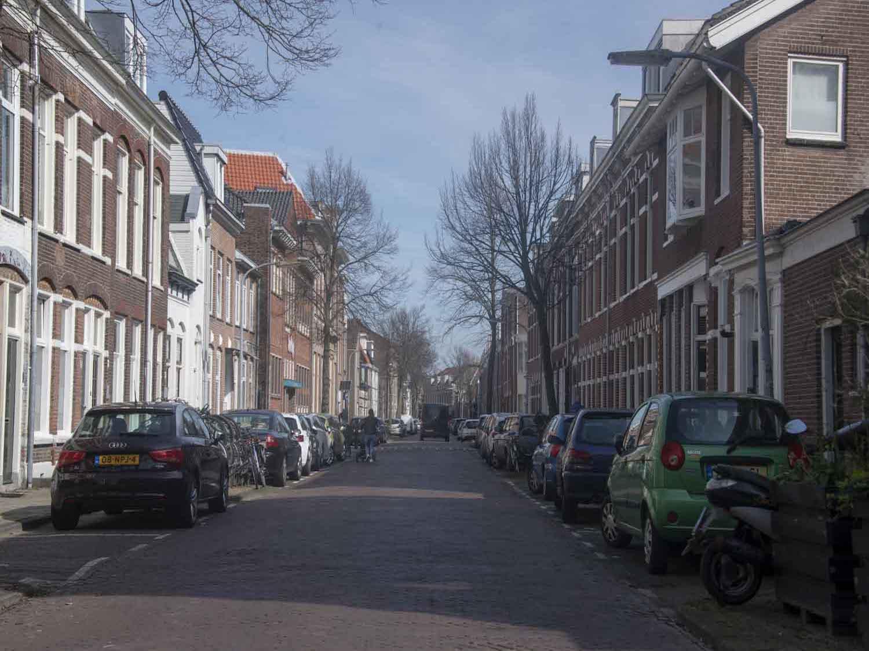 Van Marumstraat koopwoningen in het Rozenprieel in Haarlem Zuid in het Haarlemmerhoutkwartier