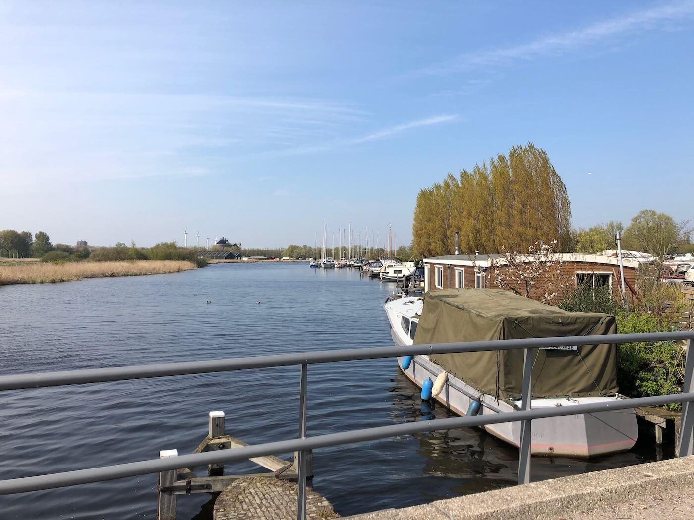 Varen in de Veerpolder Waarder en Veerpolder in Haarlem oost