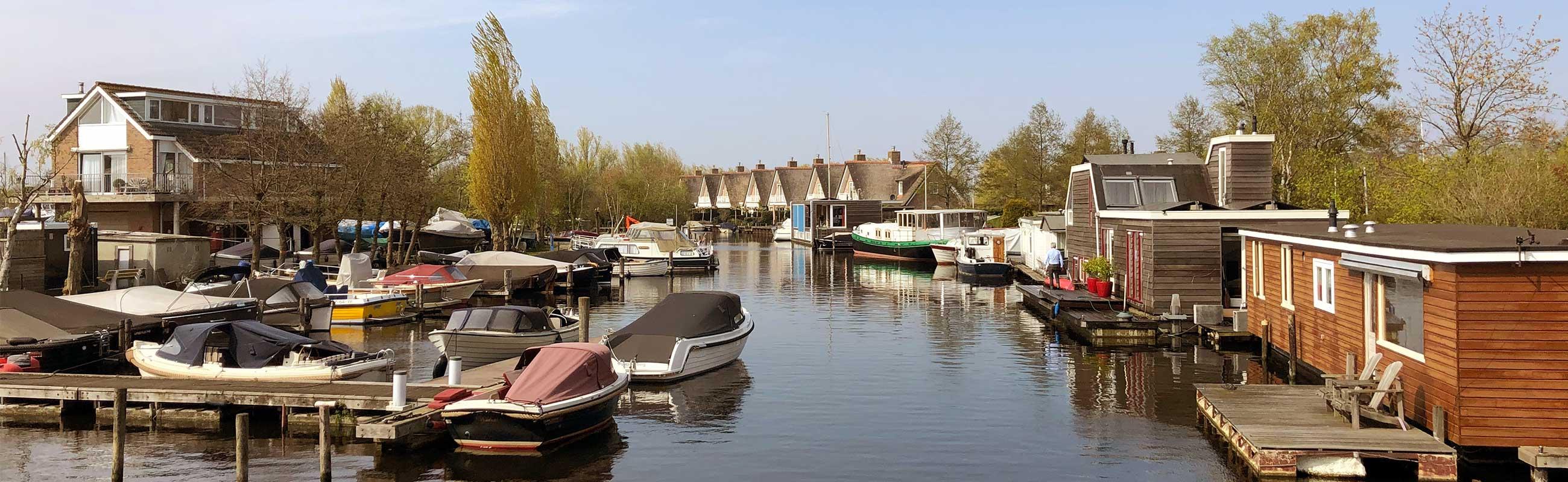 De Veerpoleder in de Waarder- En Veerpolder wijk in Haarlem Oost.