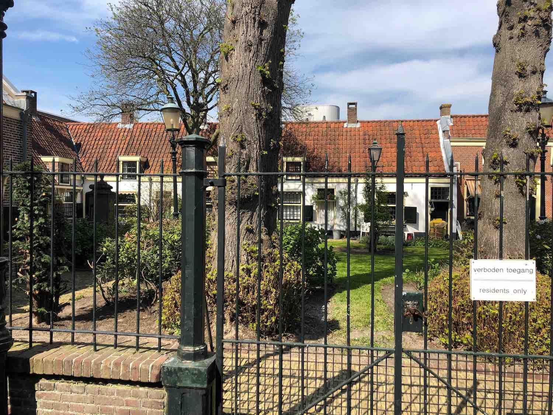 Haarlem Centrum wonen aan het Hofje van het Loo.