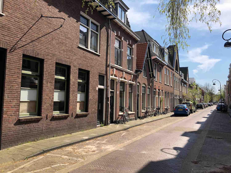 Koopwoningen middenin de vijfhoekbuurt in Haarlem.