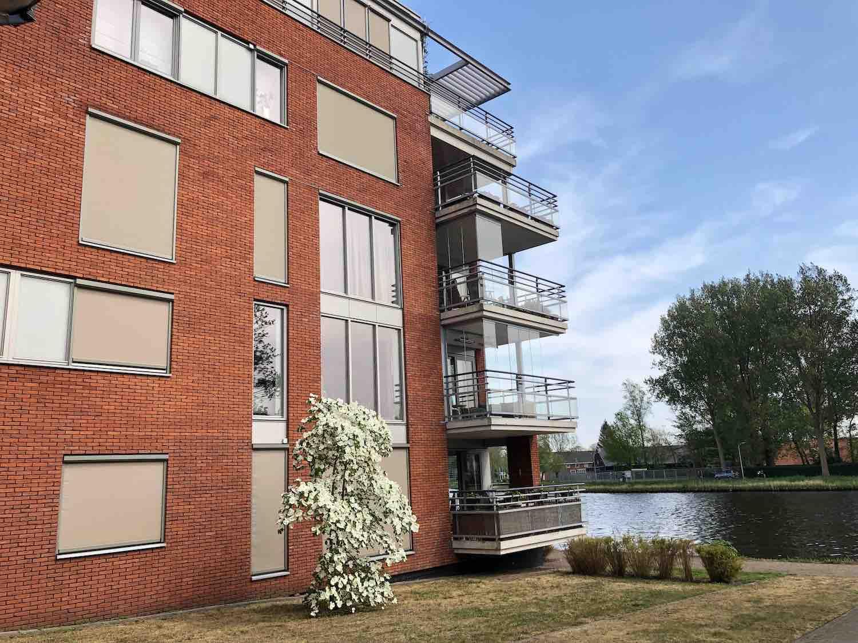 Wonen aan het water met uitzicht in de Welgelegen buurt in Haarlem in het Haarlemmerhoutkwartier