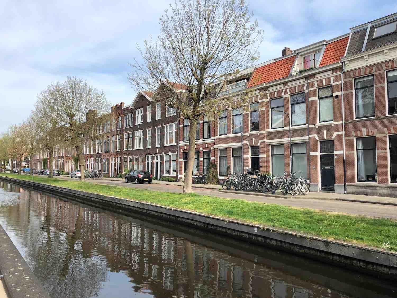 Huizen te koop in de Leidsebuurt in het Zijlwegkartier in Haarlem Zuidwest.
