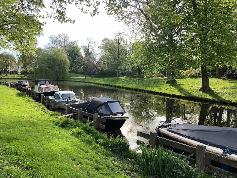 Waanzinnig mooi wonen aan het Kenaupark in het Zijlwegkwartier in Haarlem Zuidwest