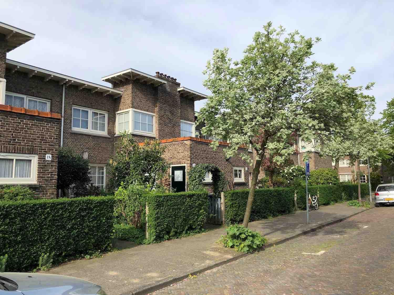 Klassieke jaren 30 woningen te koop in het Zijlwegkwartier in Haarlem Zuidwest